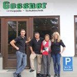 Firma Gossner Orthopaedie Schuhtechnik Unterschleißheim das Team