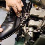 Schuhreparatur in der Schusterwerkstatt